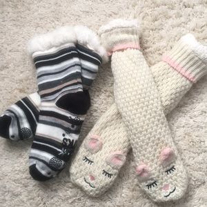 Cozy slipper socks lot